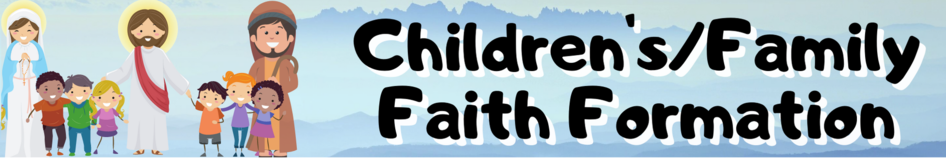 Copy Of Copy Of New This Year Childrens Family Faith Formation