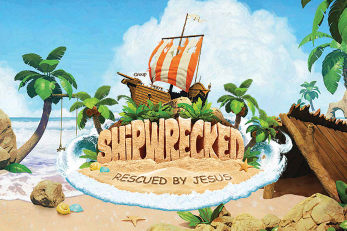 Shipwrecked Vbs 2018 Mobile Header 600x400px