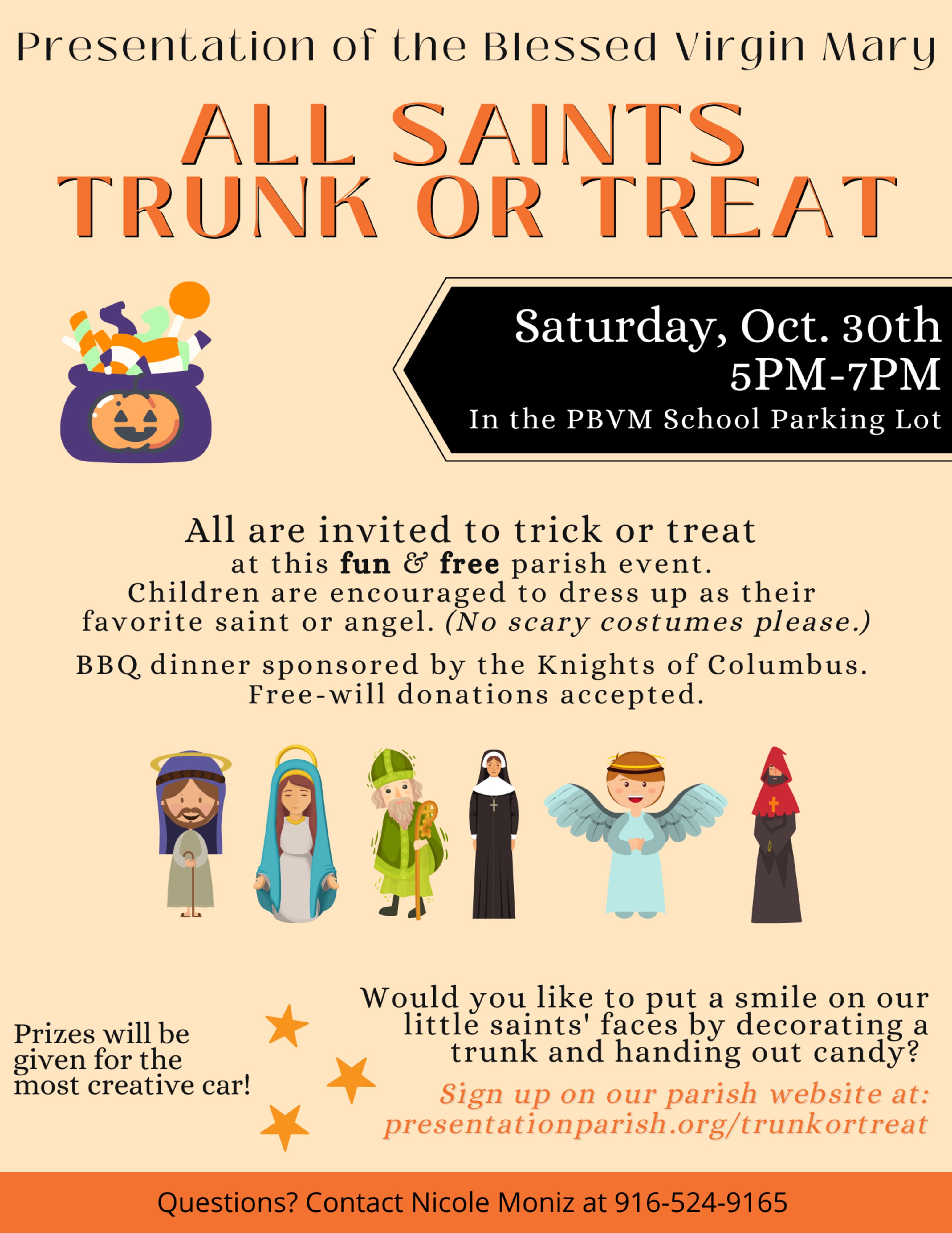 All Saints Trunk Or Treat 1 1
