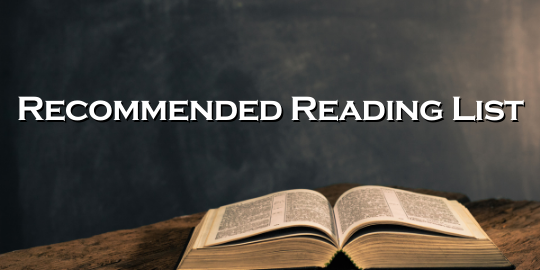 Recommended Reading List