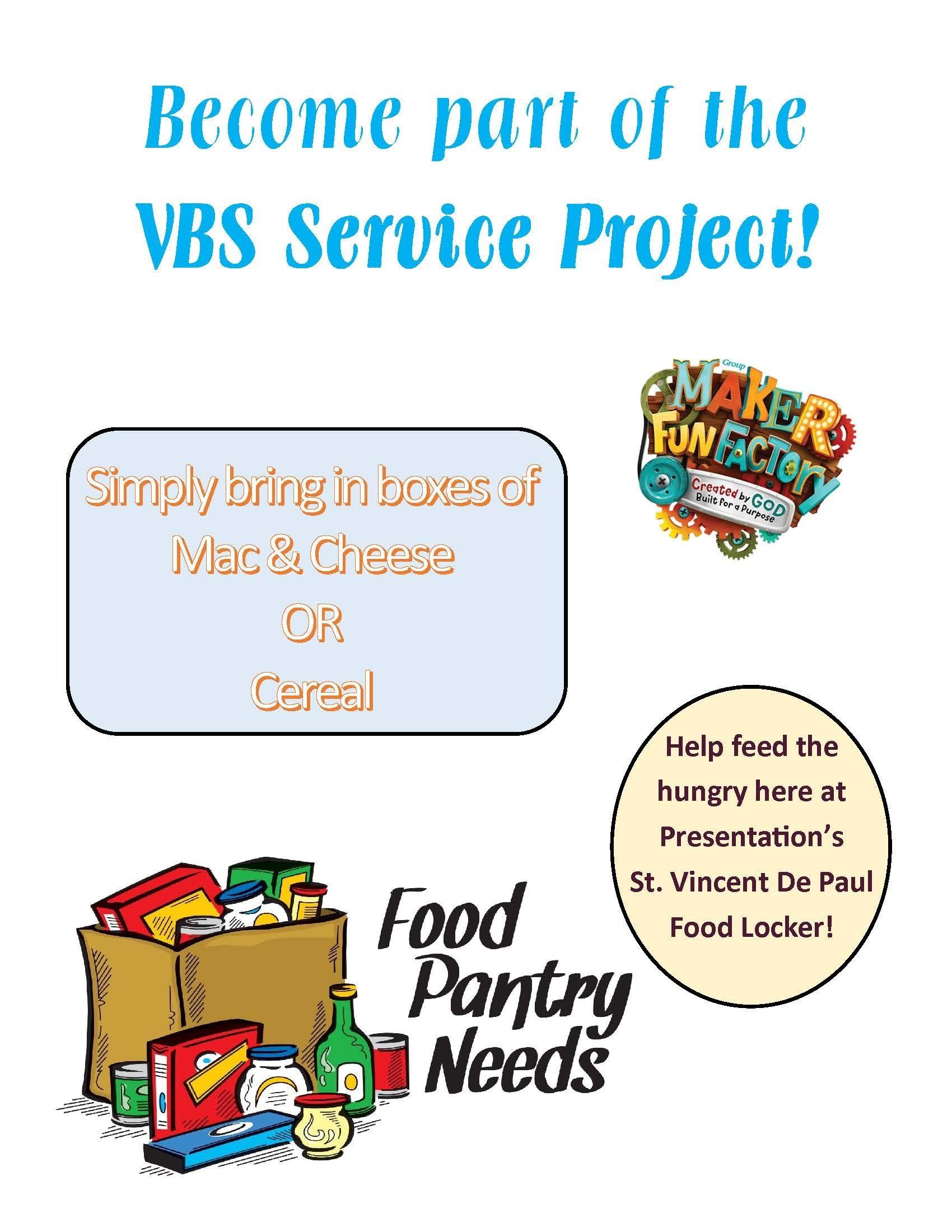 Vbs Social Justice Flyer