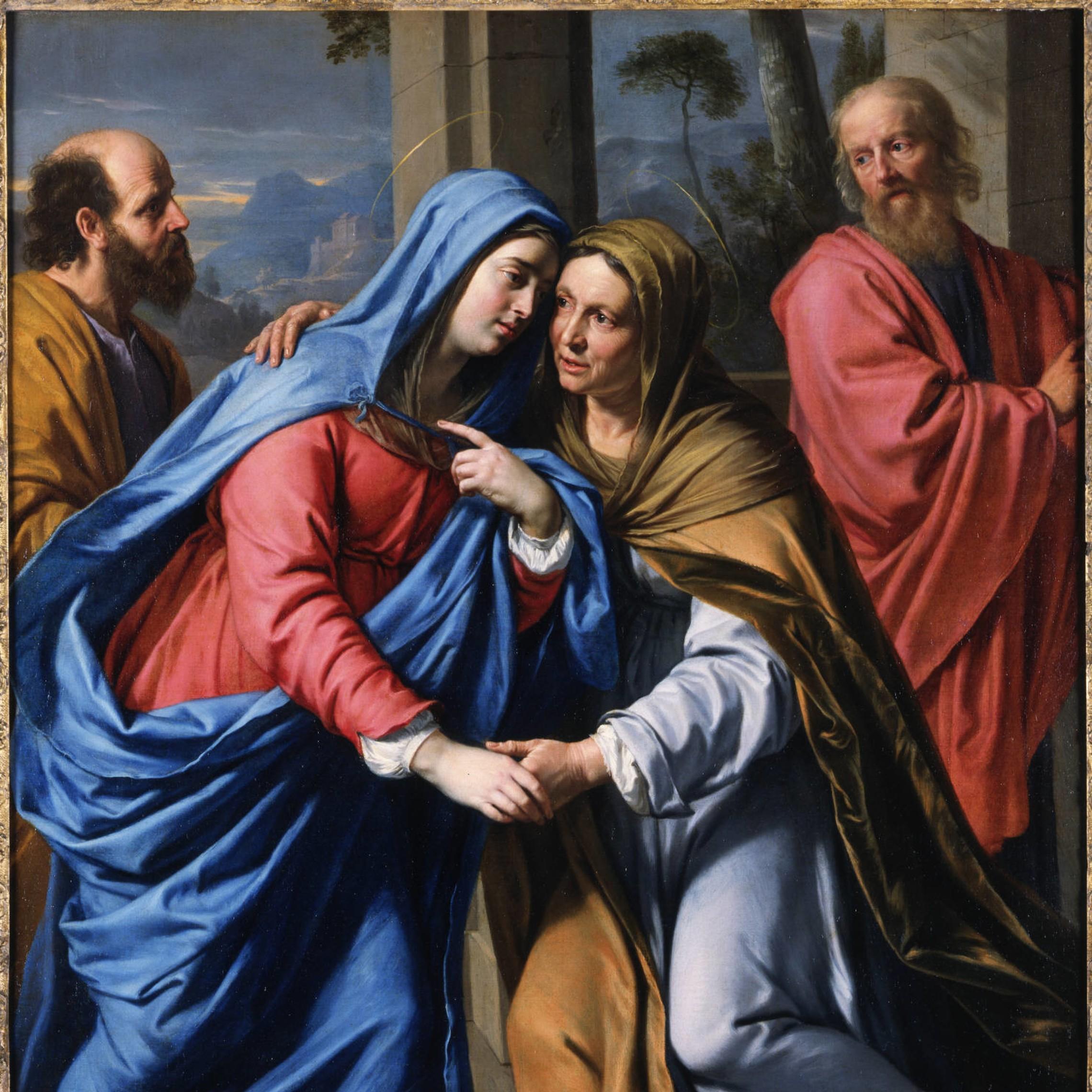 De Champaigne Philippe The Visitation 1643 48