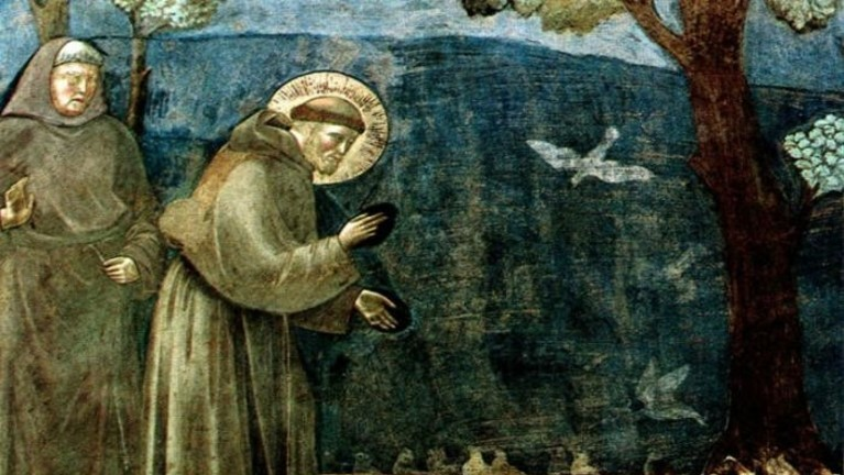 St Francis Of Assisi Icon By Theophilia D85whr3